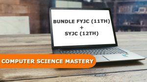 Bundle FYJC (11th) + SYJC (12th) Computer Science Mastery