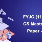 FYJC (11th) Computer Science Mastery Paper-1