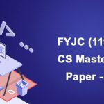 FYJC (11th) Computer Science Mastery Paper-2