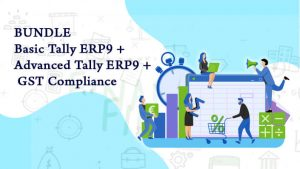 Bundle Course (Basic Tally.ERP9 + Advanced Tally.ERP9 + GST Compliance)