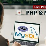 Live Project using PHP and MySQL