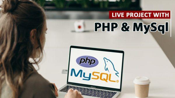 live project php mysql